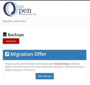 Image. Migration offer.